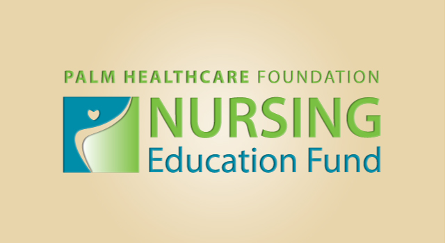 Palm Healthcare Foundation's commitment to nursing