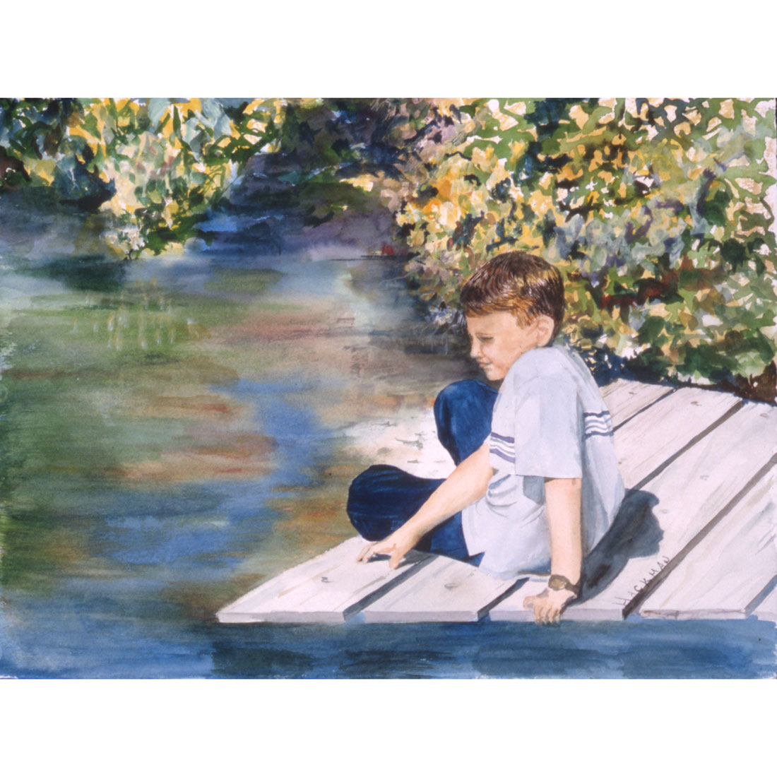 What I Never Knew watercolor