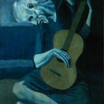 Picasso's Old Man With Guitar