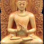 Sarnath Buddha influence for Madre Verde logo