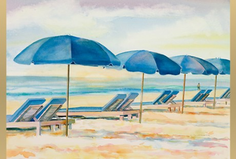 Singer Island Dawn available as giclee print