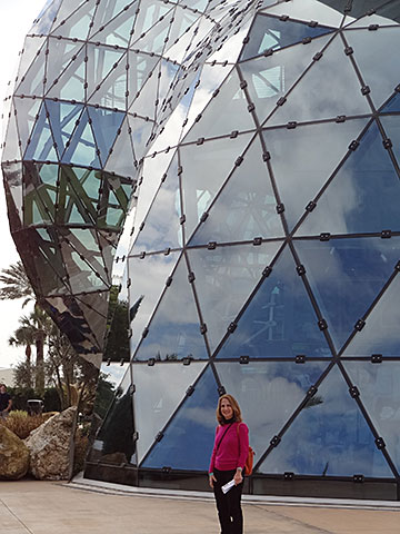 Me in Front of the Dali Museum