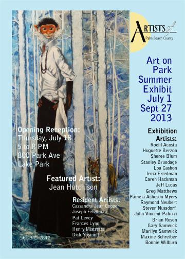 Artists of Palm Beach County Summer Exhibit