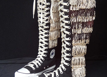 Fringed All-Stars Worn by a Real Star