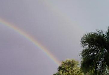 Is a rainbow the promise of good things?