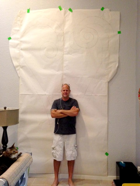 Steve Blackwood, In Three Simultaneous Exhibits in Palm Beach County