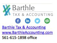Barthle signature design