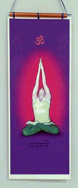 lavendar-namaste-hanging-scroll