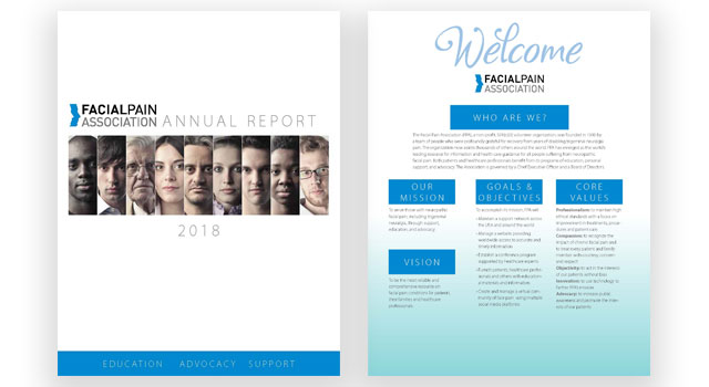 Facial Pain Association Annual Report