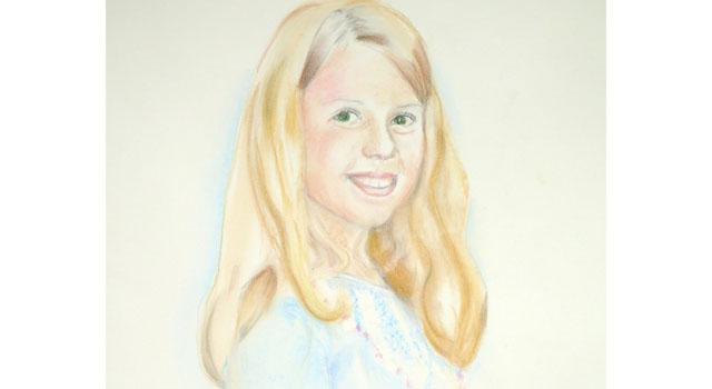 Pastel Portraits of Siblings