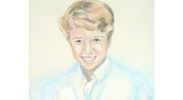 Pastel Portraits of Siblings