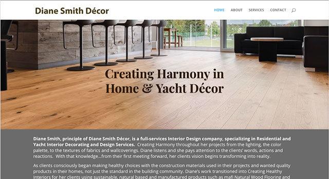 Diane Smith Decor website