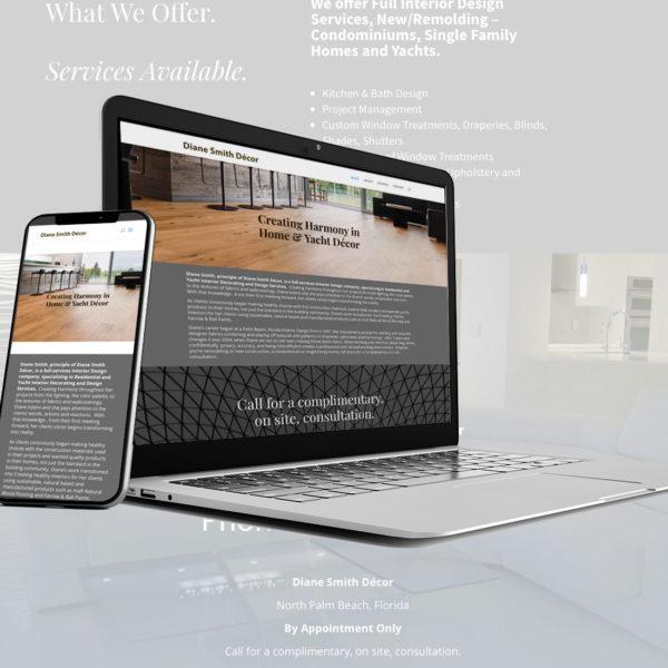 Diane Smith Décor website