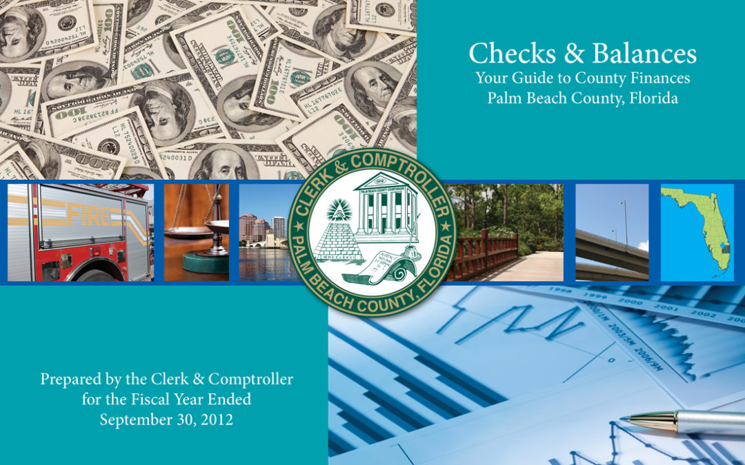 """Checks and Balances"" for Palm Beach County Clerk and Comptroller"