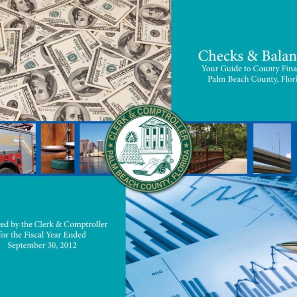 """""""Checks and Balances"""" for Palm Beach County Clerk and Comptroller"""