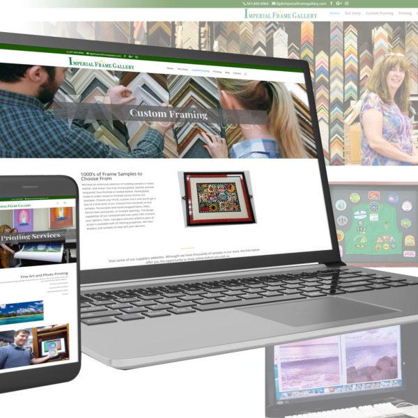Imperial Frame Gallery Website