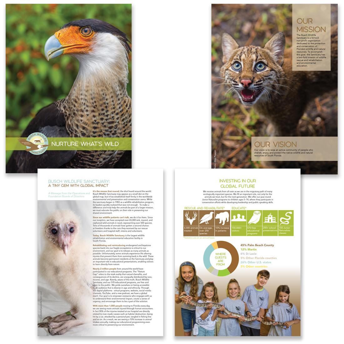 Busch-Wildlife Sanctuary brochure